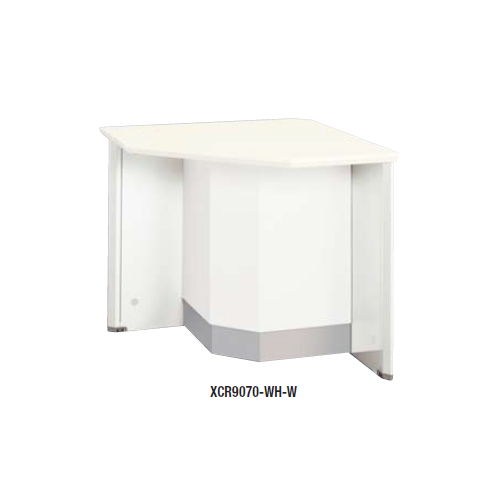 【WEB販売休止中】カウンター 外ローコーナー90° ナイキ XC型 ローカウンター XCR9070 W750×D750×H700(mm)商品画像2