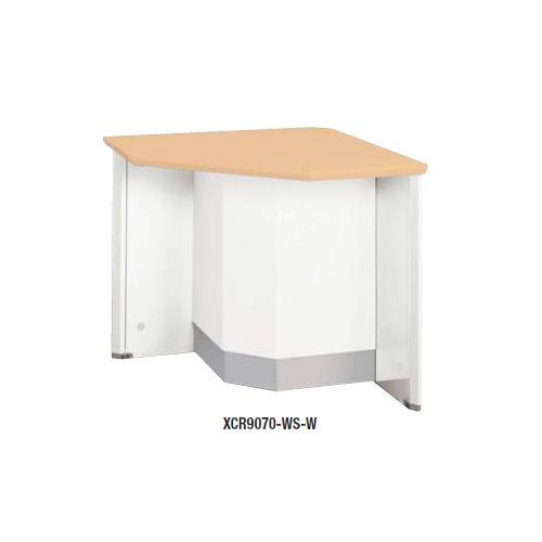 【WEB販売休止中】カウンター 外ローコーナー90° ナイキ XC型 ローカウンター XCR9070 W750×D750×H700(mm)のメイン画像