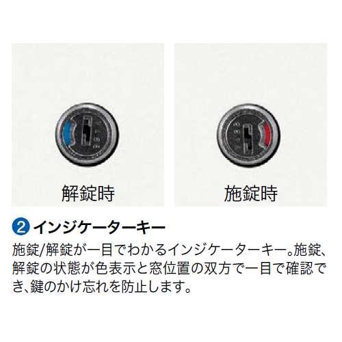 脇デスク ナイキ XED型 XED047A W400×D700×H700(mm) 2段(A4/B4・A4)商品画像6
