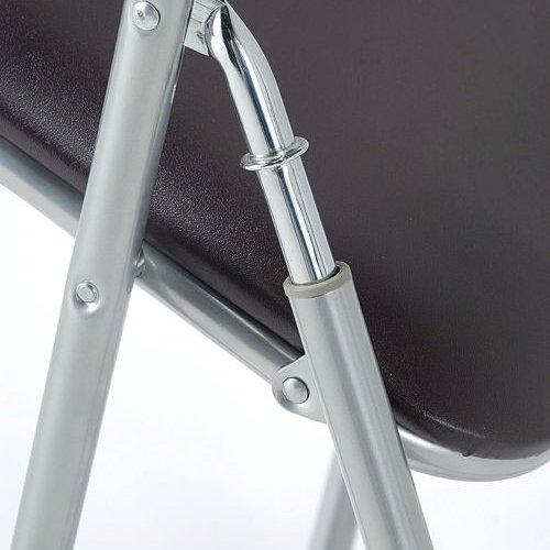 スライド式折りたたみ椅子 井上金庫(イノウエ) YH-31N 1脚セット商品画像3