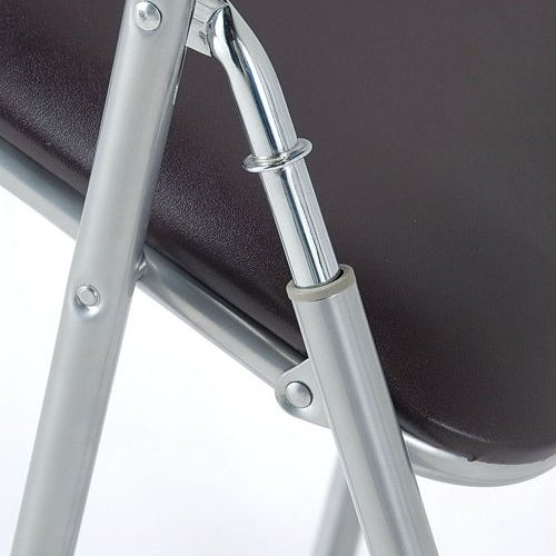 スライド式折りたたみ椅子 井上金庫(イノウエ) YH-31N-4 4脚セット商品画像4