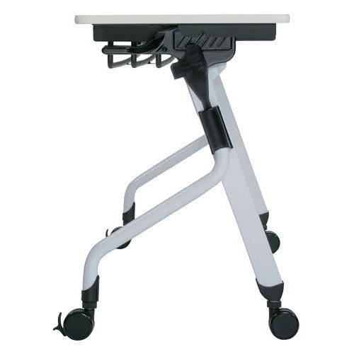 テーブル(会議用) 平行スタックテーブル ZBR-1545 W1500×D450×H700(mm)商品画像5