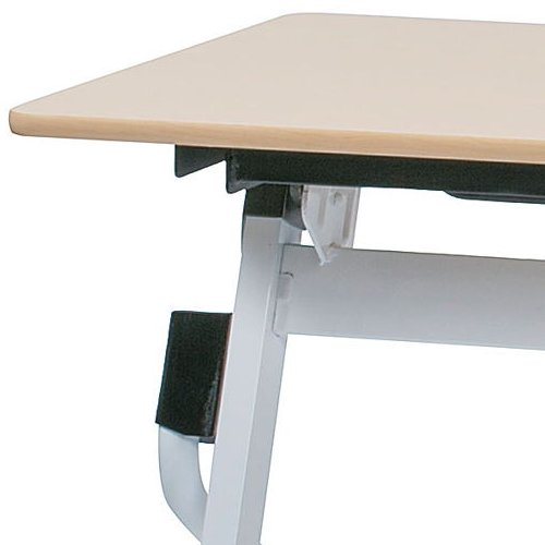 テーブル(会議用) 平行スタックテーブル ZBR-1545 W1500×D450×H700(mm)商品画像9