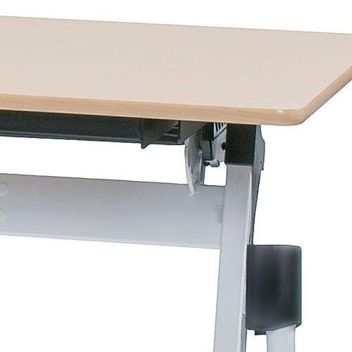 テーブル(会議用) 平行スタックテーブル ZBR-1545 W1500×D450×H700(mm)商品画像10