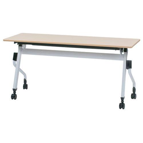 テーブル(会議用) 平行スタックテーブル ZBR-1545 W1500×D450×H700(mm)のメイン画像