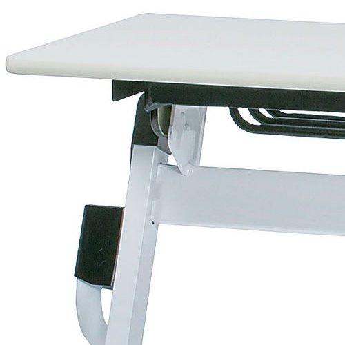 テーブル(会議用) 平行スタックテーブル ZBR-1560 W1500×D600×H700(mm)商品画像9