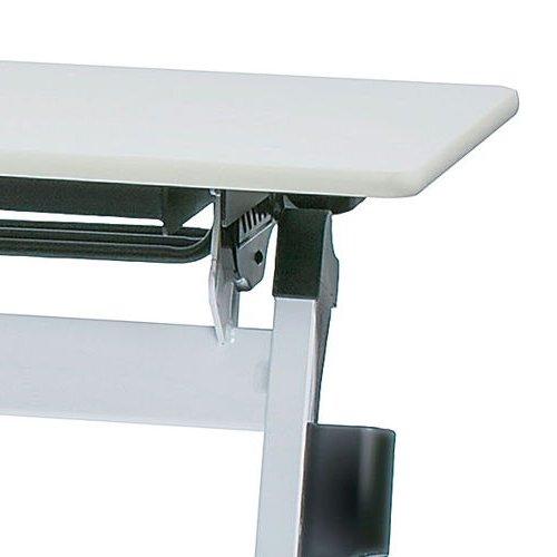 テーブル(会議用) 平行スタックテーブル ZBR-1560 W1500×D600×H700(mm)商品画像10