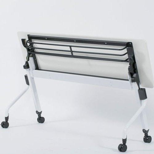 テーブル(会議用) 平行スタックテーブル ZBR-1845 W1800×D450×H700(mm)商品画像4