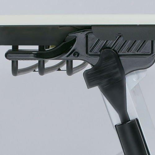 会議用テーブル 井上金庫(イノウエ) 平行スタックテーブル ZBR-1845 W1800×D450×H700(mm)商品画像6