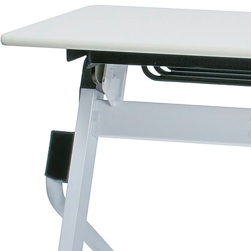 会議用テーブル 井上金庫(イノウエ) 平行スタックテーブル ZBR-1845 W1800×D450×H700(mm)商品画像9