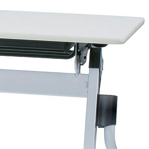 会議用テーブル 井上金庫(イノウエ) 平行スタックテーブル ZBR-1845 W1800×D450×H700(mm)商品画像10