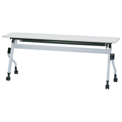 テーブル(会議用) 平行スタックテーブル ZBR-1845 W1800×D450×H700(mm)のメイン画像
