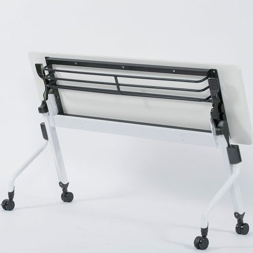 テーブル(会議用) 平行スタックテーブル ZBR-1860 W1800×D600×H700(mm)商品画像4