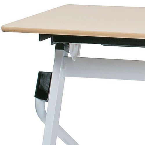 会議用テーブル 井上金庫(イノウエ) 平行スタックテーブル ZBR-1860 W1800×D600×H700(mm)商品画像9