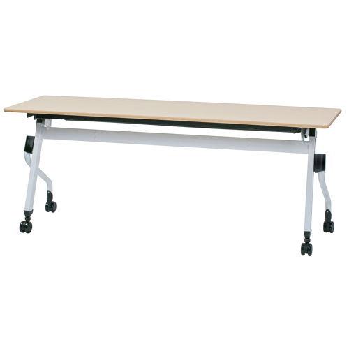 テーブル(会議用) 平行スタックテーブル ZBR-1860 W1800×D600×H700(mm)のメイン画像