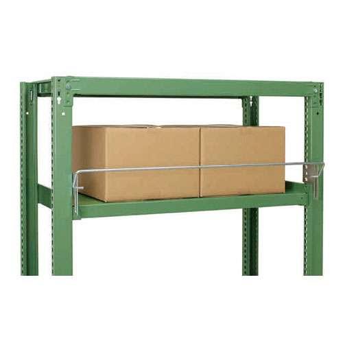 落下防止バー 前面コボレ止めパーツ(中量スチール棚500kg/段用)