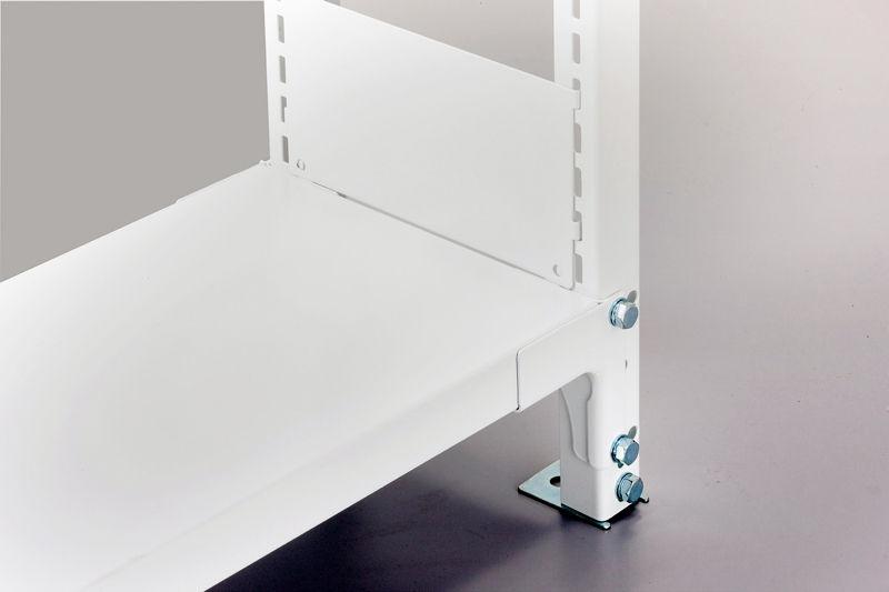 金剛製ホワイトラック軽量書棚KUの商品画像1