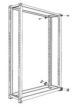 ホワイトラック書架KCJA組み立て工程4