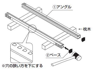 中量スチール棚組み立て工程1