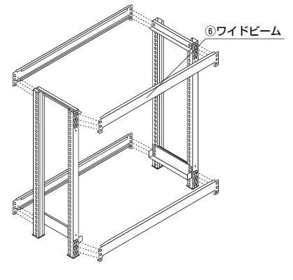 中量スチール棚組み立て工程3