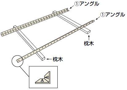 オープン棚・金網棚組み立て工程1