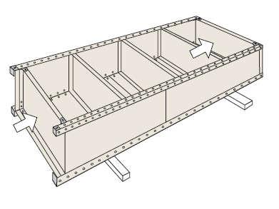 パネル棚組み立て工程5
