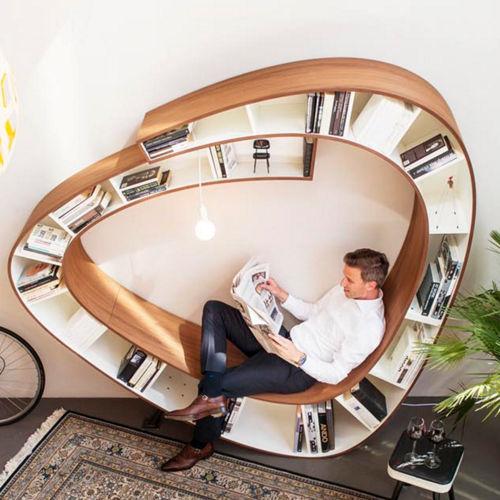 本を愛する本好きのための本棚(+椅子)画像1
