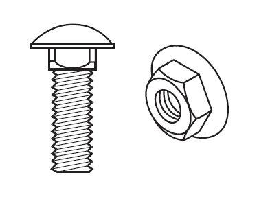 パネル棚(軽量スチール棚)のビス(ボルト・ナット)必要個数画像1
