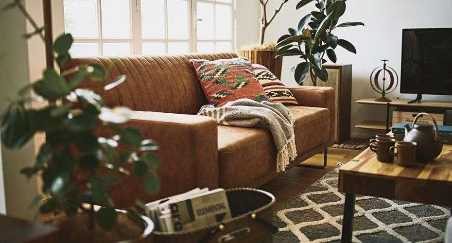 応接ソファーの画像
