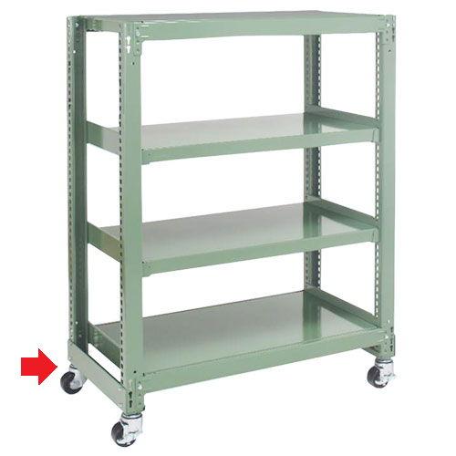 キャスターベース(移動台車) 中量スチール棚(300kg/段)用