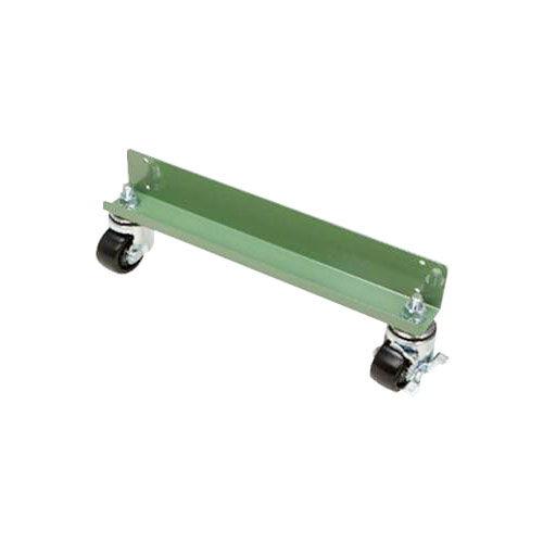 キャスターベース(移動台車) 中量スチール棚(300kg/段)用 ベース画像(グリーン)