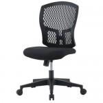 チェア(椅子) 井上金庫(イノウエ) 樹脂メッシュチェア D4C-07 肘なし